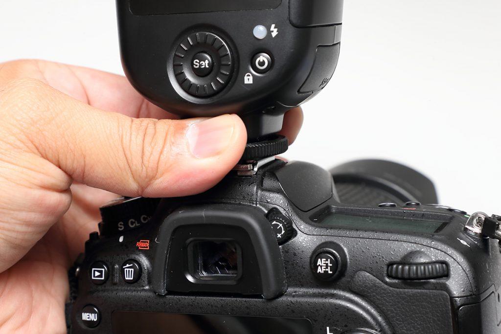 【MG80 Pro・Di700A・MF18】カメラへの固定がうまくいきません。
