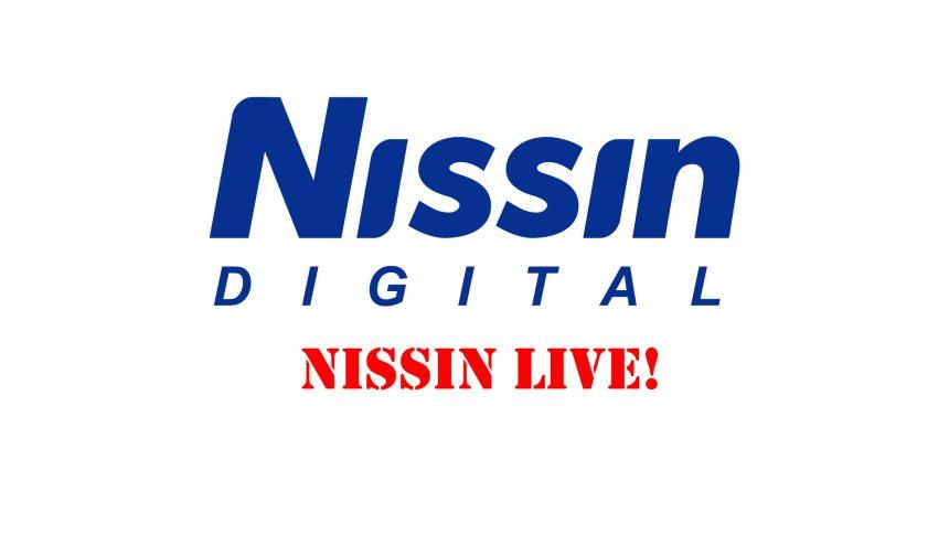 4月4日(土) ライブ動画配信「Nissin Live 3」のお知らせ