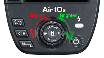 Air10s Bright Control